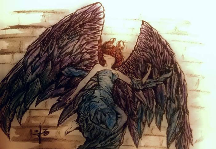 Dibujo de la artista Ely M. Cateriano